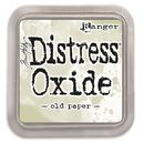 Distress Oxide -mustetyyny - Old Paper