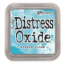 Distress Oxide -mustetyyny - Broken china