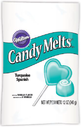 Wiltonin Candy Melts -napit - Turkoosi