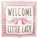 Foliopallo - Welcome little lady