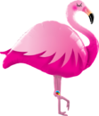 Muotofoliopallo - Flamingo