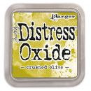 Distress Oxide -mustetyyny - Crushed Olive