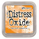 Distress Oxide -mustetyyny - Carved pumpkin