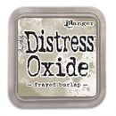Distress Oxide -mustetyyny - Frayed burlap