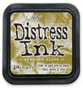 Distress Ink -mustetyyny - Crushed Olive