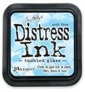Distress Ink -mustetyyny - Tumbled Glass